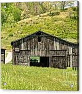 Barn - Tire Center Acrylic Print