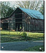 Barn 1 - Featured In Old Building And Ruins Group Acrylic Print