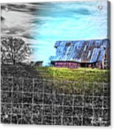 Barn 23 - Featured In Comfortable Art  And Artists Of Western Ny Groups Acrylic Print