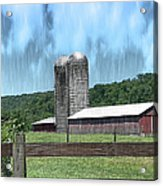 Barn 28 - Featured In Old Buildings And Ruins Group Acrylic Print