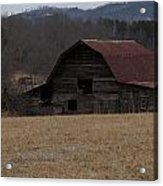 Barn Across The Field Acrylic Print