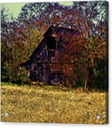 Barn And Diamond Reo-featured In Barns Big And Small Group Acrylic Print