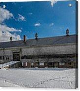 Barn At Amhi   7k00315 Acrylic Print by Guy Whiteley