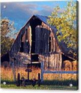 Barn At Ash Flat Arkansas Acrylic Print