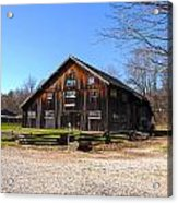 Barn At Billie Creek Village Acrylic Print