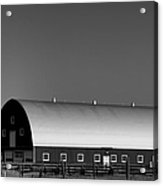 Barn At Deer Lodge Acrylic Print