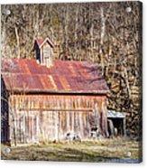 Barn By The Bluffs Acrylic Print
