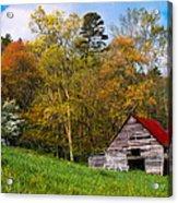 Barn Colors Acrylic Print