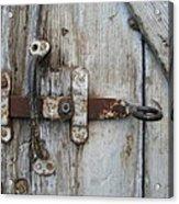 Barn Door Handle Acrylic Print