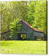 Barn From The Forgotten Farm Acrylic Print