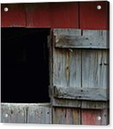 Barn Hatch Acrylic Print