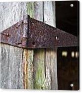 Barn Hinge 1 Acrylic Print