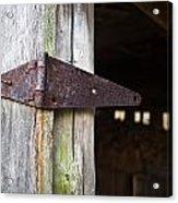 Barn Hinge 2 Acrylic Print