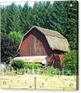 Barn In Summer Acrylic Print