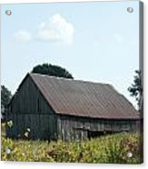 Barn In The Grass Acrylic Print