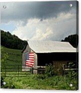 Barn In The Usa Acrylic Print