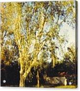 Barn Landscape Acrylic Print