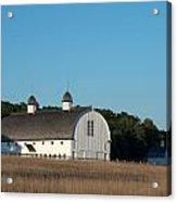 Barn On The Hill Acrylic Print
