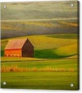 Barn On The Palouse Acrylic Print