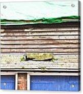 Barn Repairs Acrylic Print
