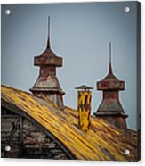 Barn Roof In Color Acrylic Print