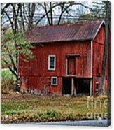 Barn - Seen Better Days Acrylic Print