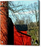 Barn Shadows Acrylic Print