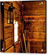 Barn Tools Acrylic Print