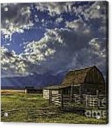 Barn With A View Acrylic Print