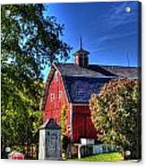 Barn With Out-sheds Brunner Family Farm Acrylic Print
