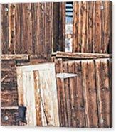 Barn Wood Acrylic Print