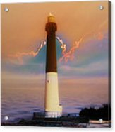 Barnegat Lighthouse In New Jersey Acrylic Print