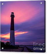 Barnegat Sunset Le Acrylic Print