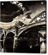 Barnes Rail Bridge Acrylic Print