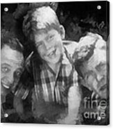 Barney Opie And Andy Acrylic Print