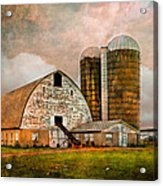 Barns In The Country Acrylic Print