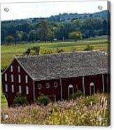 Barns Of Gettysburg 1a Acrylic Print