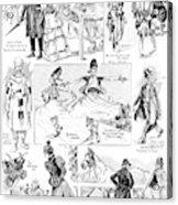 Barnum And Bailey, 1898 Acrylic Print