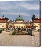 Baroque Landmark - Buchlovice Castle Acrylic Print