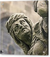 Baroque Statue Depicting Avarice Acrylic Print