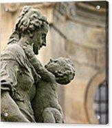 Baroque Statue Depicting Motherhood Acrylic Print