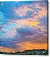 Barossa Valley Sunset Acrylic Print