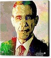 Barrack Obama Acrylic Print