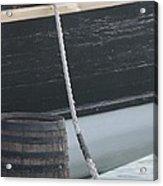Barrel And Ship Acrylic Print