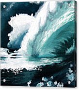 Barreling Storm Acrylic Print