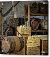 Barrels Acrylic Print by James Barber