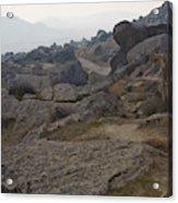 Barren Landscape South Of Qobustan Acrylic Print