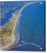 Barrier Island Aerial Acrylic Print