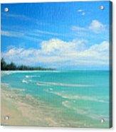 Barrier Island Beauty Acrylic Print