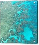 Barrier Reef Acrylic Print